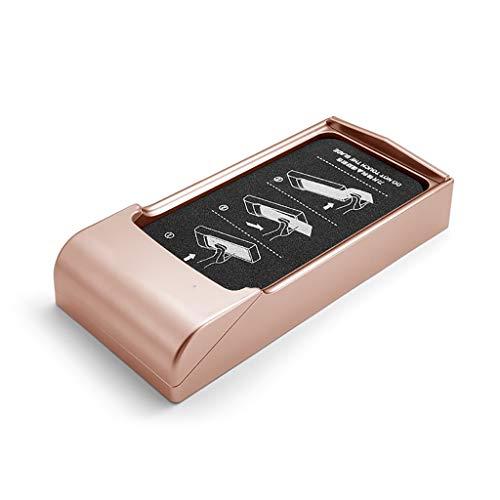 ZYFXZ Cubierta automática del Zapato del dispensador de Zapatos con 600 Transparent PE Zapato de películas para el hogar, la Tienda y la Oficina (Color : Gold)