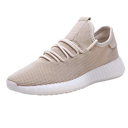 Herren Sneakers,SANFASHION Laufschuhe Atmungsaktiv Leichte Turnschuhe mit Luftpolster Freizeitschuhe Gym Fitness Schuhe
