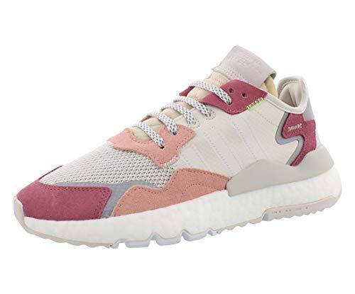 adidas Nite Jogger W Womens Da8666 Size 6 Pink
