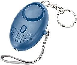 Jiudong Safe Sound Persoonlijk Alarm, 130 DB Draagbare Alarm Sleutelhanger met LED-verlichting voor zelfverdediging, noodv...
