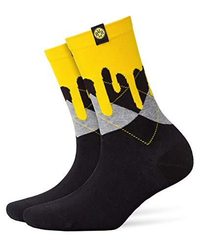 FALKE Damen BVB Socke, Black, 36-41