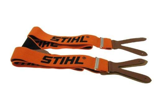 Stihl 0000 884 1511, Orange 120cm Hosenträger mit Knopflöchern, 1 W, 1 V, 120 cm