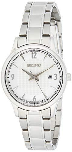 Seiko Quarz Damen-Uhr Edelstahl mit Metallband SXDG93P1
