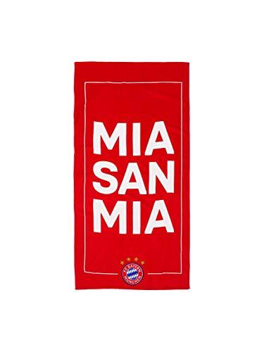 FC Bayern München Strandtuch Mia san mia 75 x 150 cm