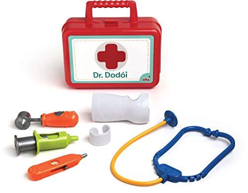 Brincando de Profissões Kit Medico Dr. Dodoi, Elka, Multicor
