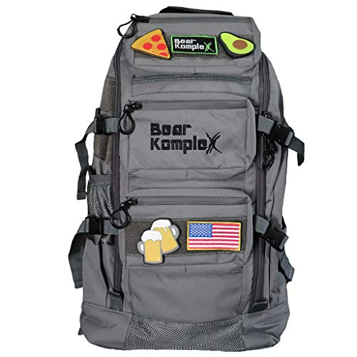 Bear KompleX Military Grade Tactical Backpack, Multi-use, 1000 Denier Nylon