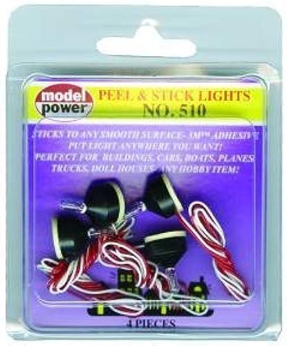 100% garantía genuina de contador Model Model Model Power Peel & Stick Lights (4-Pieces) by Model Power  Tu satisfacción es nuestro objetivo