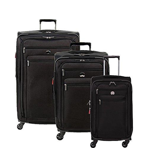 """Delsey Luggage Helium Sky 2.0 3 Piece Softside Lugage Set 21""""/25""""/29"""""""