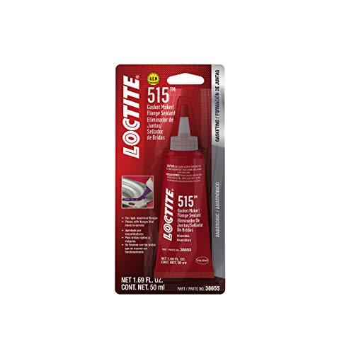 Loctite 515 Gasket Maker & Flange Sealant for Automotive: High Temp, Medium-Strength, Anaerobic   Purple, 50mL (PN: 555352)