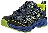 CMP Kids Altak Trail Shoes WP 2.0, Zapatilla Running Unisex Niños, Cosmo Limeade, 35 EU