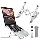 Laptop Stand,Apsojoy Adjustable Aluminum Laptop Computer Stand Tablet Stand,Ergonomic Portable Notebook Desktop Holder