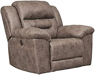 Signature Design by Ashley Stoneland Power Rocker Recliner Fossil