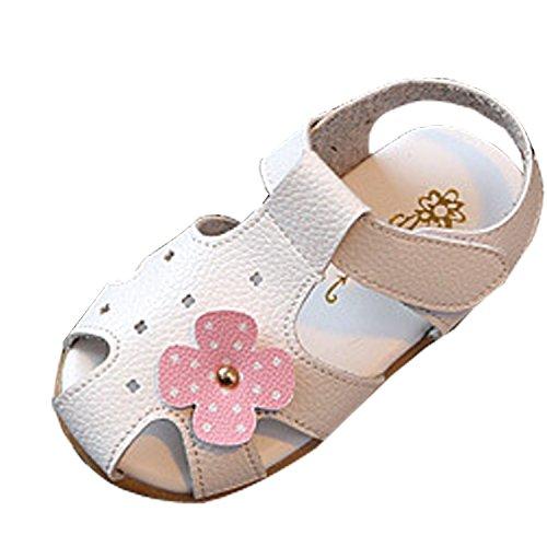 Gaorui Sandales Enfant Fille Chaussures Nu-Pieds de Princesse Sabot Mule Synthétique