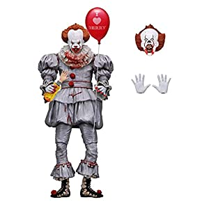 "Alician FunGame NECA – IT – Figura de acción de Escala de 7 ""- Ultimate Pennywise (2017) versión Regular"