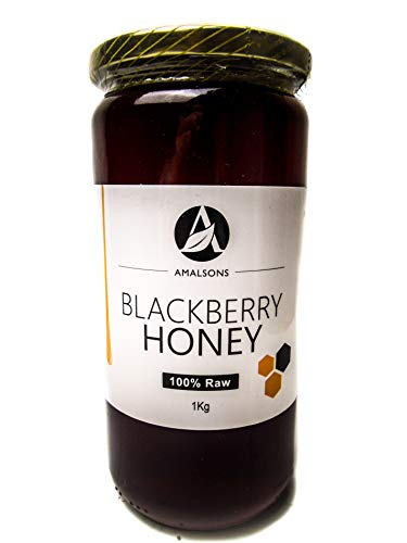 Spanish Blackberry Honey (100% Pure/Raw/Unpasteurised) by Amalsons (1kg)