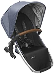 NEW! 2018 model RumbleSeat. The seat back height (with canopy adjustment) is 17-20 inches Suitable for children from 3 months to 35lbs or 36 in, whichever comes first Can be positioned forward and rear facing with Multi-position recline Quick, no-too...