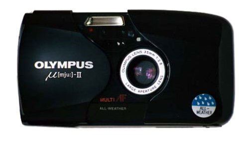 Olympus MJU II schwarz