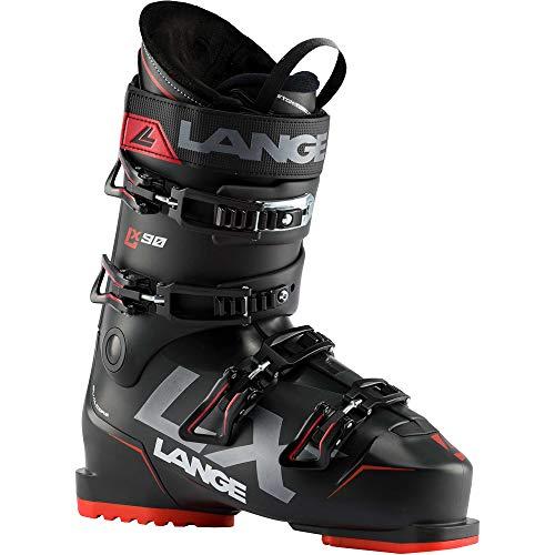 Lange LX 90 Skischuhe, Erwachsene, Unisex, Schwarz/Rot, 280