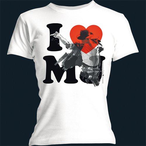 I Love Mj (l/Sk/White)
