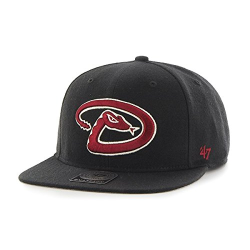 47 MLB Arizona Diamondbacks Sure Shot Captain Casquette de Baseball, Noir, Taille Unique Mixte