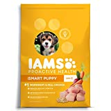 DISCONTINUED BY MANUFACTURER:IAMS PROACTIVE HEALTH Smart Puppy Dry Dog Food with Real Chicken, 30 lb. Bag