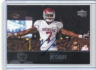 2011 Upper Deck College Football Legends Autograph Card # 86 DEMARCO MURRAY