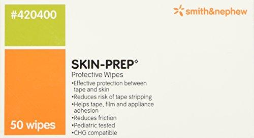 Smith & Nephew Skin-prep Protective Dressing Wipes - Box of 50