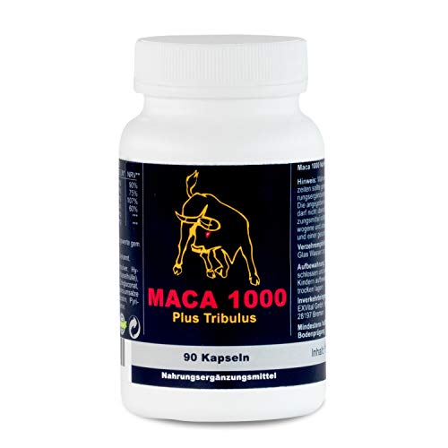 Maca 1000 plus Tribulus Potenzmittel