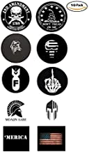Union Hard Hat Stickers - BEST SELLER - 10 Decal Value Pack. Great for a Construction Toolbox, Hardhat, Lunchbox, Helmet, Mechanic, Military. Fun Gift for American Working Men & Women. USA Made.
