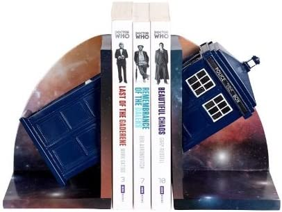 Doctor Who Tardis Spasm price Bookends Toys by DW01064 Underground Al sold out.