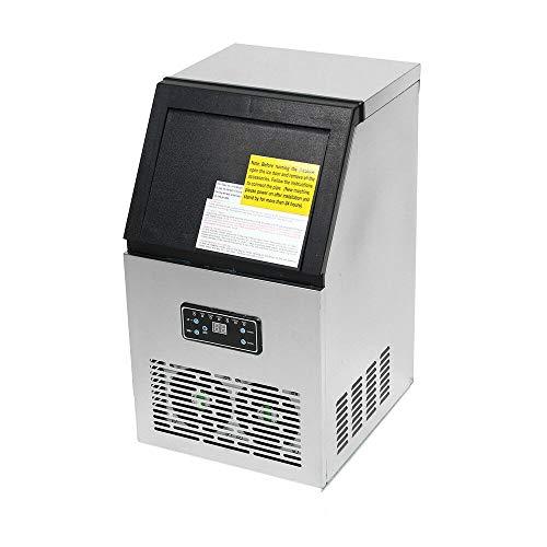 Machine à Glaçons Machine à Glace Automatique avec Écran Machine À Glaçons Commerciale 230W Pour Les Réceptions, Restaurant, Bar, Coffee
