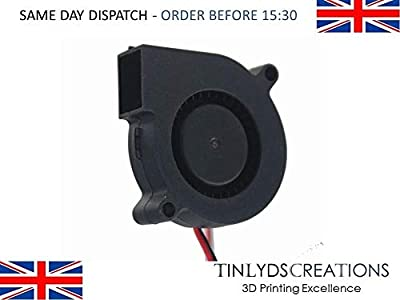 5015 – 50mm Turbine Blower Cooling Fan – 24V DC Centrifugal Fan – 3D Printer