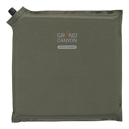 GRAND CANYON Cruise Cushion - selbstaufblasbares Sitz- Kopfkissen, 30 x 30 x 3 cm, olive, 305009