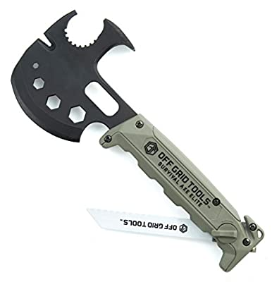 Off Grid Tools OGT-SA110 Survival Axe Elite Multitool by Off Grid Tools