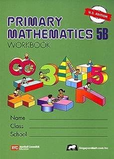 Primary Mathematics 5b: Us Edition - PMUSW5B (Primary Mathematics Us Edition)
