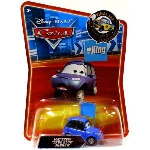 Disney / Pixar CARS Movie Exclusive 1:55 Scale Die Cast Car Final Lap Series Matthew True Blue McCrew Mattel by Mattel