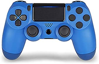 $33 » Qingrx Bluetooth Wireless Gamepad Controller for PS4 Playstation 4 Console Control Joystick Controller for PS4 Console(Blue)