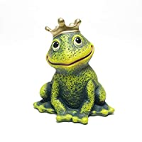 ポルトガル製 テラコッタ ドール かえる 置物 雑貨 カエルの王子様 14cm pto-2313g