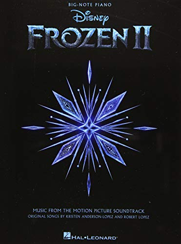 Frozen II Big-Note Piano Songbook: Music from the Motion Picture Soundtrack