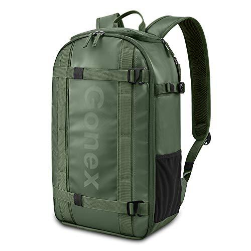 Gonex Laptop Backpack Travel Daypack Carry On Bag Fits 15.6 Inch Laptop Olive