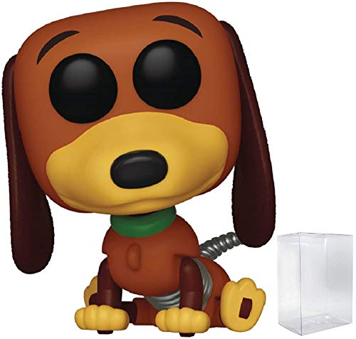 Disney Pixar: Toy Story - Slinky Dog Funko Pop! Vinyl Figure (Includes Compatible Pop Box Protector...