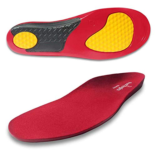 Footlogics FullLength Workwear Orthotic Shoe Insoles with Mild Arch Support for Tired Aching Feet Foot Pain Supination  Workmate Pair L