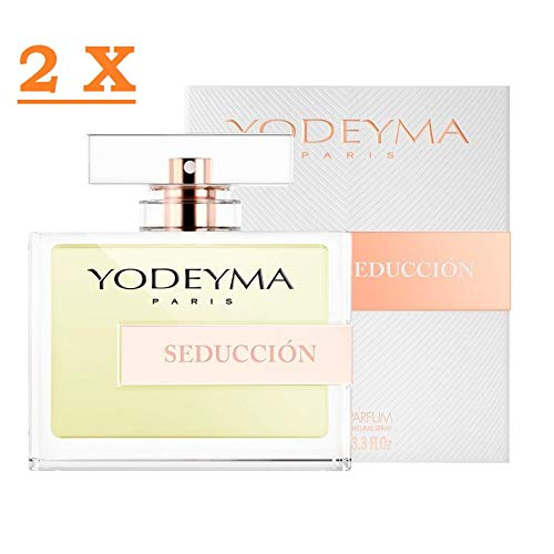 Profumo Donna Yodeyma SEDUCCION Eau de Parfum 100ml 2 confezioni