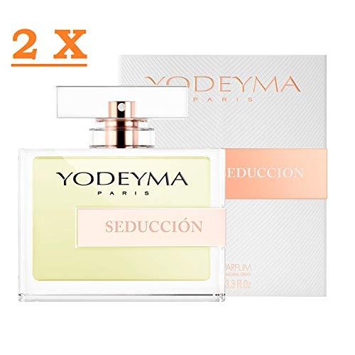 Perfume mujer Yodeyma SEDUCCION Eau de Parfum 100 ml 2 paquetes