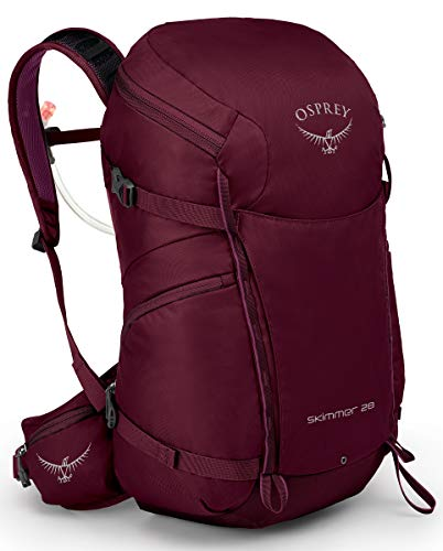 Osprey Skimmer 28 Women's Hiking Hydration Backpack, Plum Red