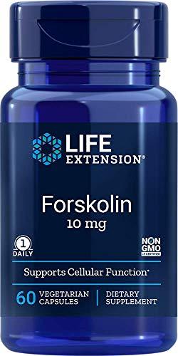 Life Extension Forskolin 10 Mg 60 Vegetarian Capsules
