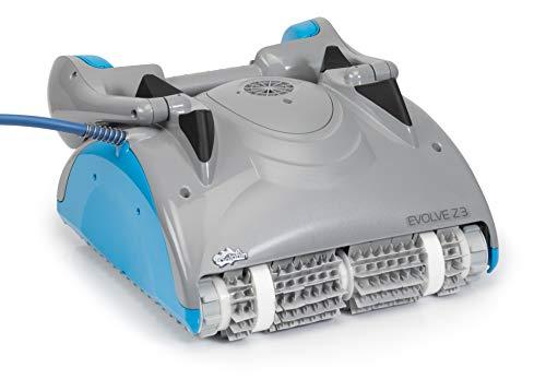 time4wellness Evolve Z3 automatischer Poolroboter mit Transportwagen und Fernbedienung