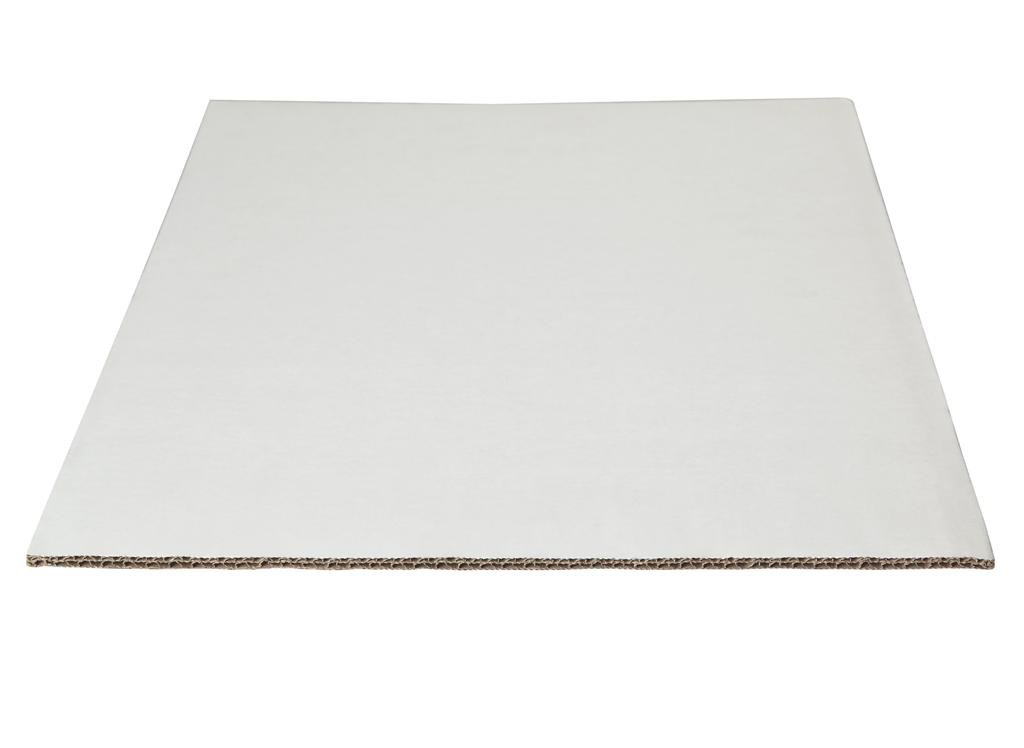 W PACKAGING WP4325 1 4 Sheet Ca White safety Kraft Double 13.5x9 Mesa Mall Wall