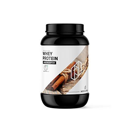 Whey Protein Zimt-Keks 1kg | Gesunder Eiweißshake zum Trinken | Wertvolle Proteine für Erhalt und Aufbau von Muskelmasse, Geschmack:Cinnamon Cookie
