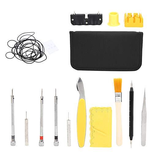 Puzzle Juego De Reparación De Relojes con Junta Tórica Impermeable Kit De Herramientas De Reparación De Relojes Professional